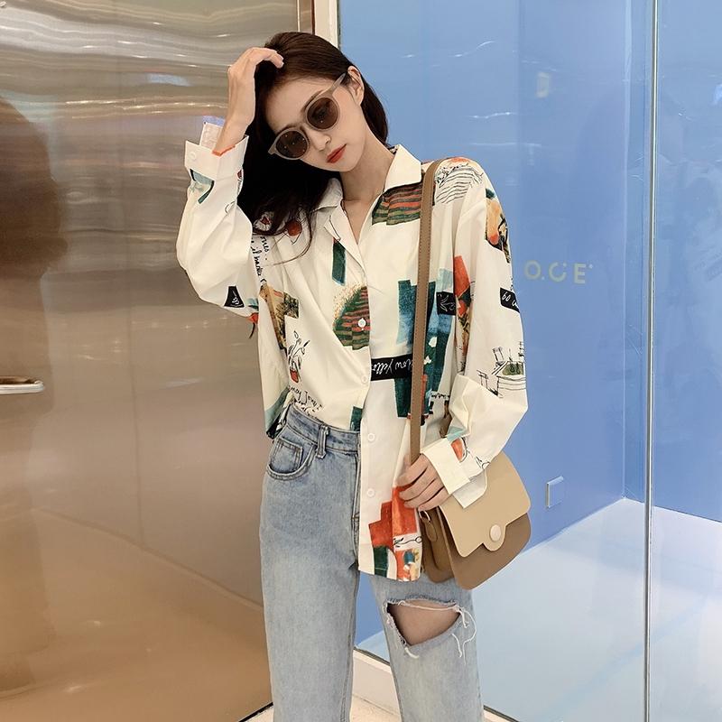 เสื้อเกาหลี เสื้อสตรี  เสื้อ ผ้าชีฟอง
