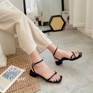 Sandal xỏ ngón da mềm hh gót 1,5cm (nên đặt lên 1 size )
