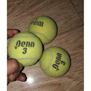 Combo 3 quả banh tenis đã qua sử dụng nhưng vẫn còn đẹp