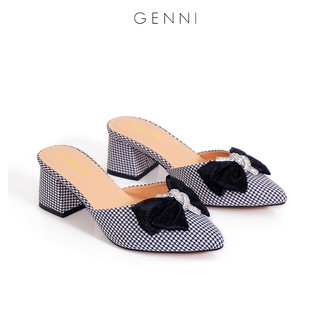 Giày sục nữ đính nơ 5p GE452 - Genni thumbnail