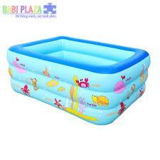 Bể bơi hình chữ nhật 1m3 giá rẻ