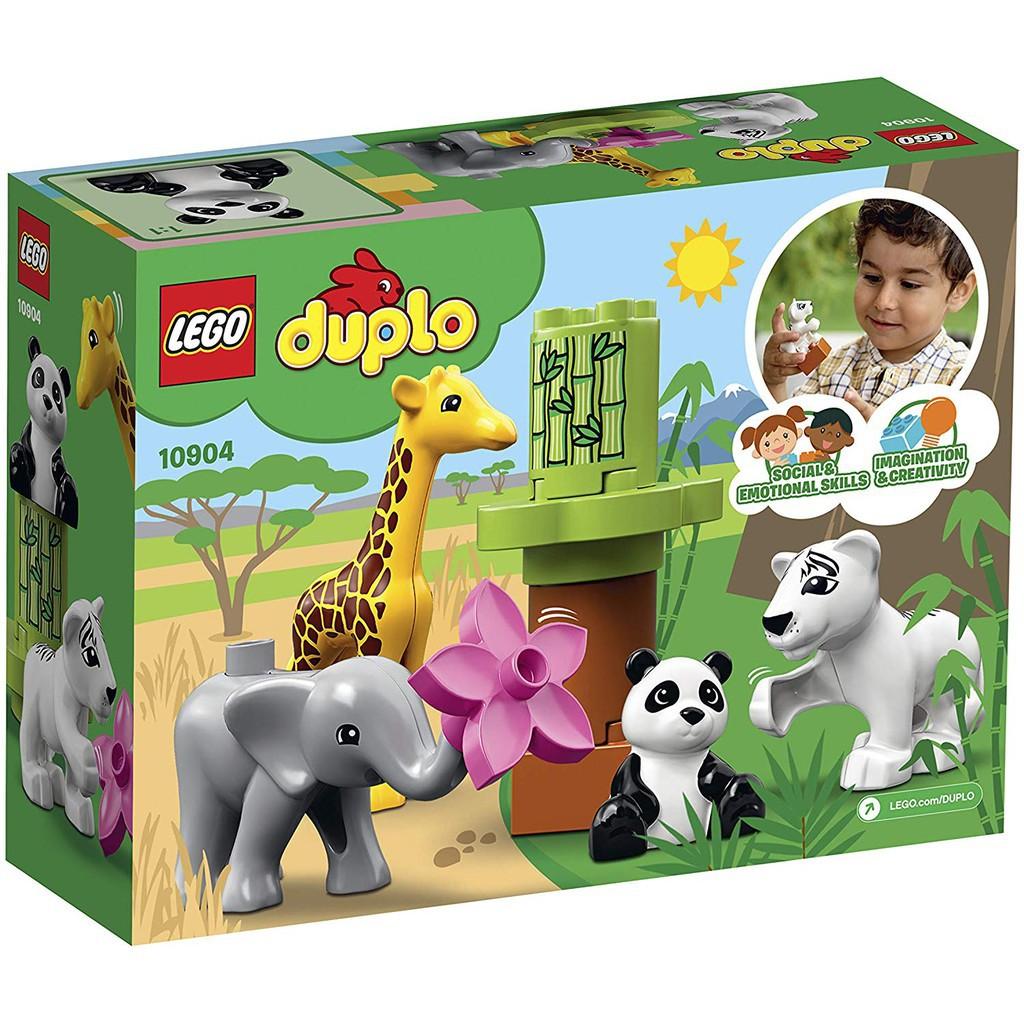 LEGO – 10904 – Bộ Thú Cưng Hoang Dã Của Bé