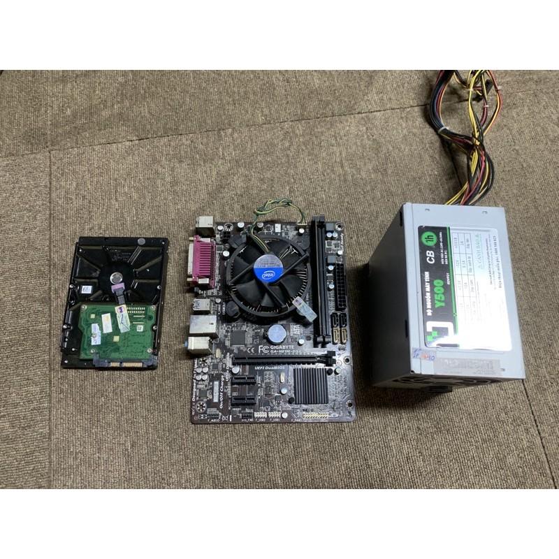Combo Nguồn PC/ Mainboard H81/G3460/4Gb/250gb (Bóc dàn nét)