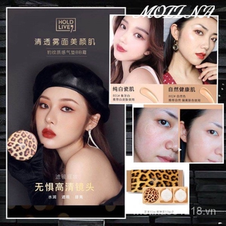 Leopard Air CushionBBCream Lasting Moisturizing Concealer Brighten Dull Skin Nude Makeup 1+2Gift Box