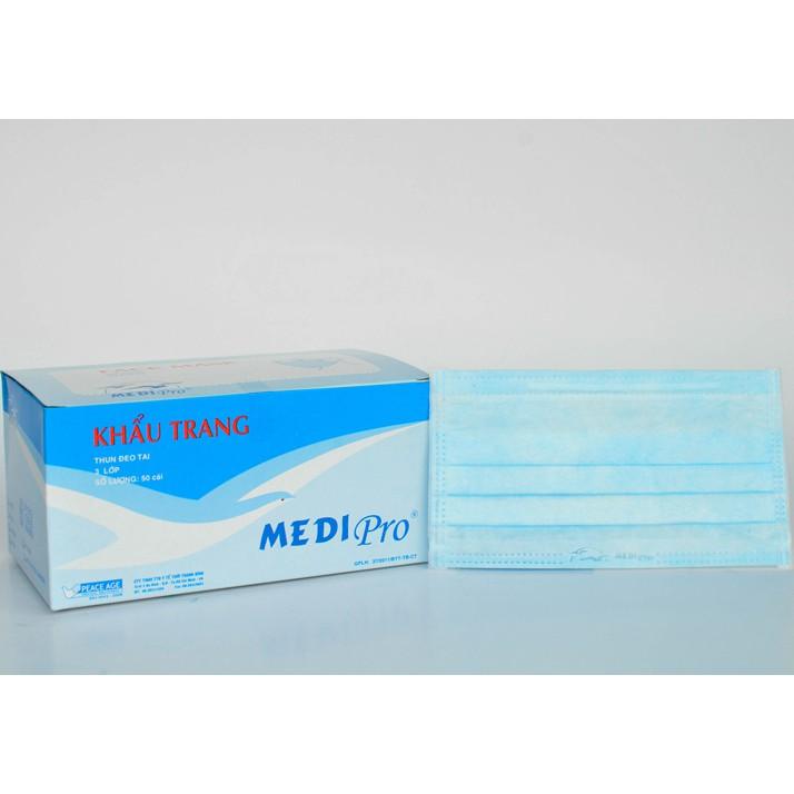 Khẩu trang y tế 3 lớp Medi Pro ( Thời Thanh Bình) - 3032516 , 945928320 , 322_945928320 , 50000 , Khau-trang-y-te-3-lop-Medi-Pro-Thoi-Thanh-Binh-322_945928320 , shopee.vn , Khẩu trang y tế 3 lớp Medi Pro ( Thời Thanh Bình)