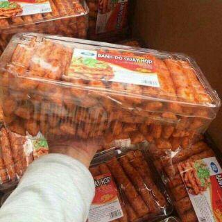 [Mã 1510FMCGSALE giảm 8% đơn 500K] Sỉ 1 hộp Bánh bò quẩy hộp
