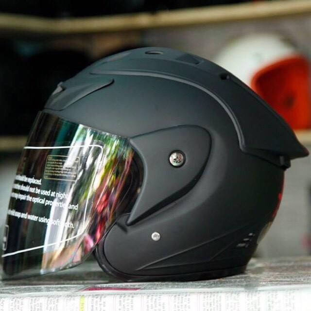 Mũ Bảo Hiểm ASIA M115 Kính Tráng Gương