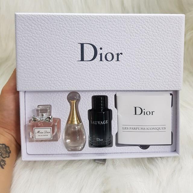 Bộ nước hoa mini Dior 3pcs (miss dior edp / jadore / dior sauvage)