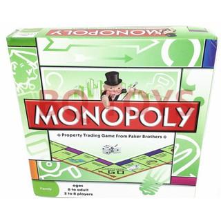 Bộ trò chơi cờ tỷ phú Monopoly cơ bản New thumbnail