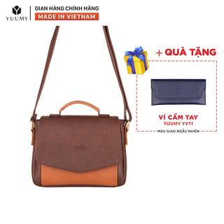 Túi đeo chéo nữ thời trang YUUMY YN31 nhiều màu (Tặng ví cầm tay YV11) thumbnail