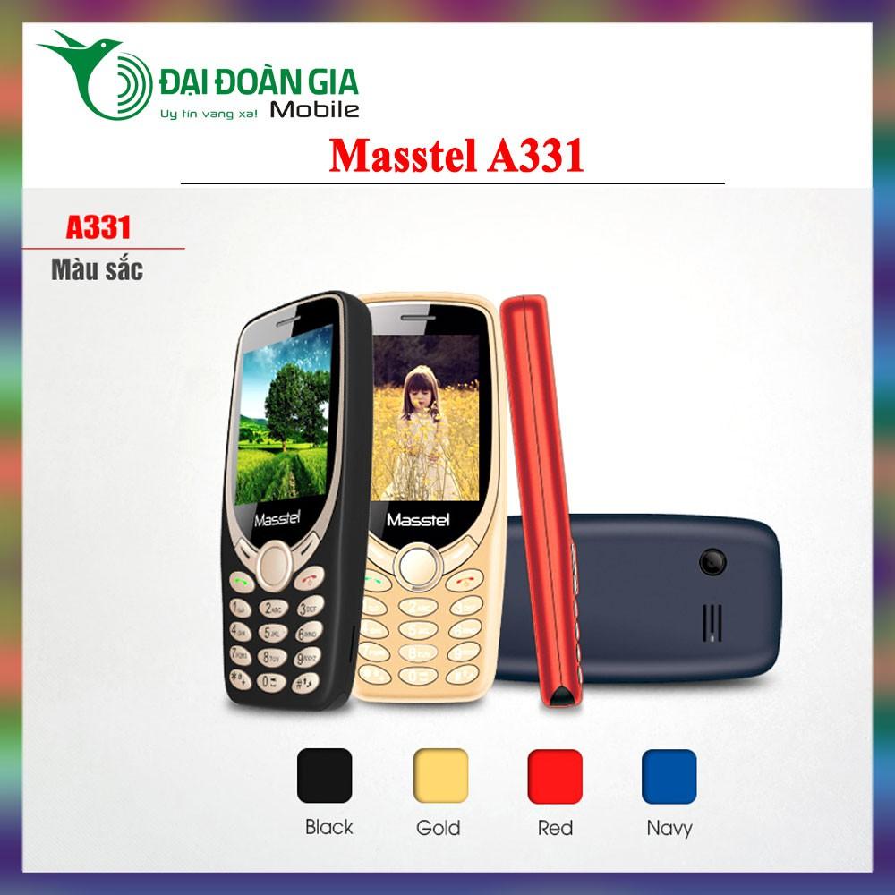 Điện thoại Masstel A331 - Nghe FM không cần dây - 2 Sim 2 Sóng - 3523219 , 1074480781 , 322_1074480781 , 350000 , Dien-thoai-Masstel-A331-Nghe-FM-khong-can-day-2-Sim-2-Song-322_1074480781 , shopee.vn , Điện thoại Masstel A331 - Nghe FM không cần dây - 2 Sim 2 Sóng