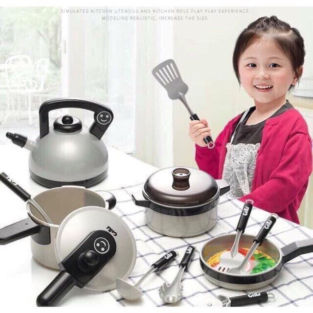 [Nhập TOYMAY giảm 10K Xu]Bộ đồ chơi nấu ăn 36 chi tiết mại zô mại zô shopquynh123