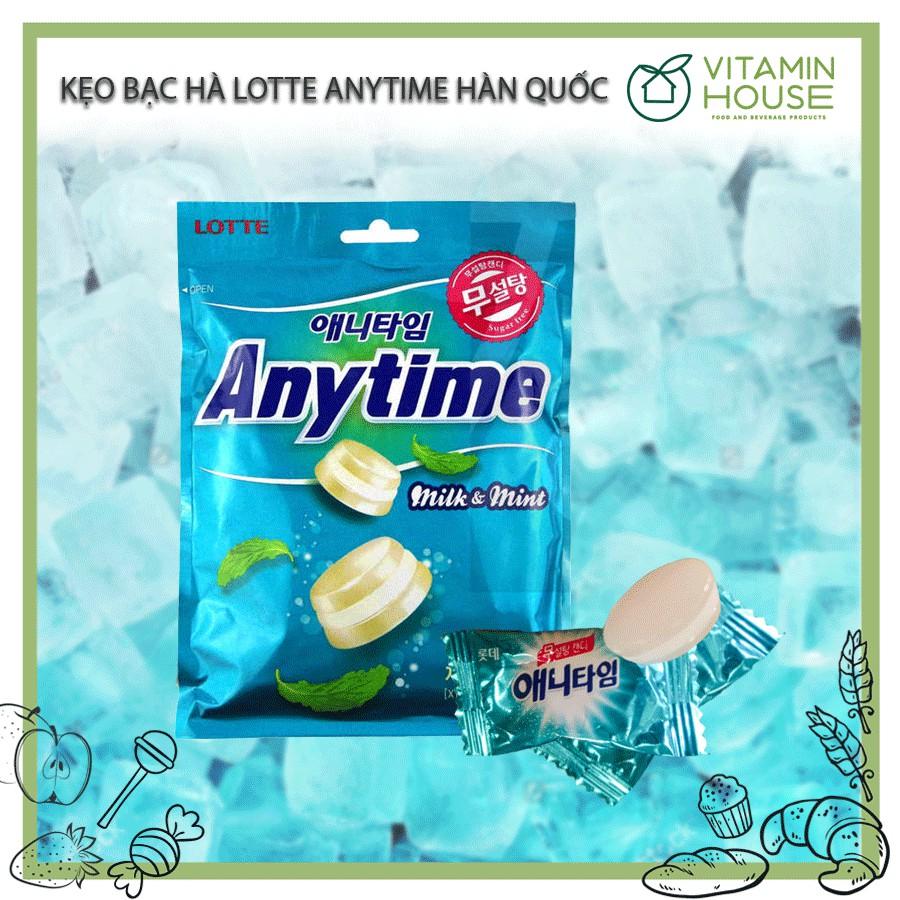 Kẹo ANYTIME Hàn Quốc vị Bạc Hà Sữa-Anytime Milk & Mint 74g - 2866446 , 232898745 , 322_232898745 , 55000 , Keo-ANYTIME-Han-Quoc-vi-Bac-Ha-Sua-Anytime-Milk-Mint-74g-322_232898745 , shopee.vn , Kẹo ANYTIME Hàn Quốc vị Bạc Hà Sữa-Anytime Milk & Mint 74g
