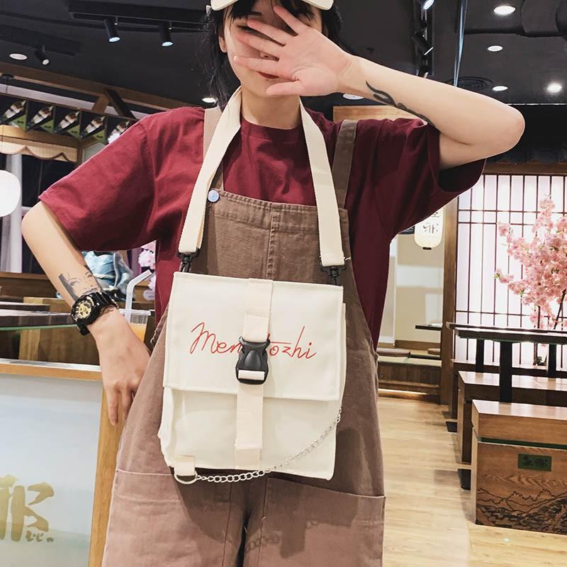 【จัดส่งฟรี】นซูเปอร์ไฟผ้าใบเครือข่ายญี่ปุ่นกระเป๋าถือสีแดงขนาดเล็กกระเป๋าใหม่ 2019