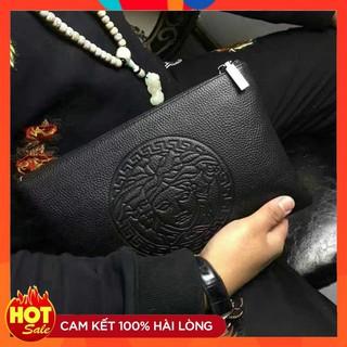 Túi Da Cầm Tay Thời Trang Xu Hướng Mới Dành Cho Nam HOT thumbnail