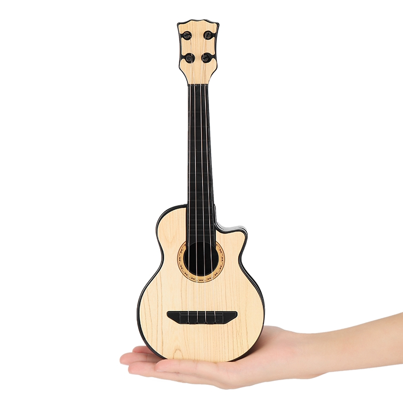 New Musical Plastic Mini Guitar Toy Small Guitar Ukulele Simulation Early
