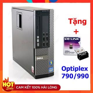 [Mã 66ELHASALE hoàn 7% đơn 500K] Máy tính Đồng Bộ Dell Optiplex 790 / 990 Core i7/core I5/core I3/Ram 4GB / SSD 120GB