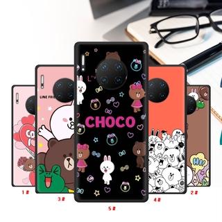 Ốp Lưng Silicone Mềm In Hình Love Friends Cho Huawei Nova 5 Pro / 4e / 5t / 6 / 4g / P9 Lite / Y7 Prime / Y6