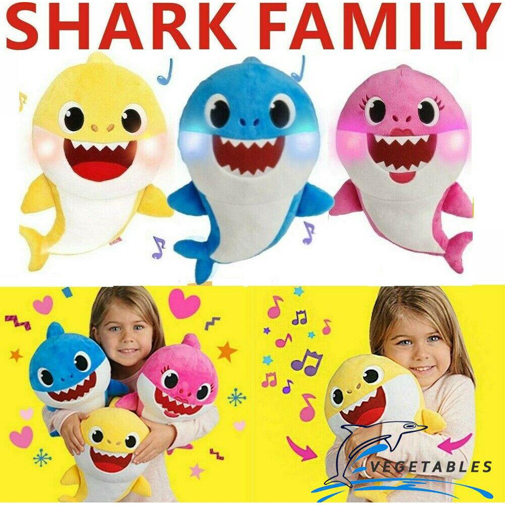HGL♪Baby Shark Plush Singing Toys Music Song Doll English Creative