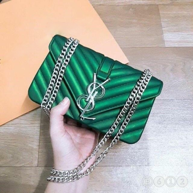 Túi xách đeo chéo nữ đẹp Silicon I8 DC17