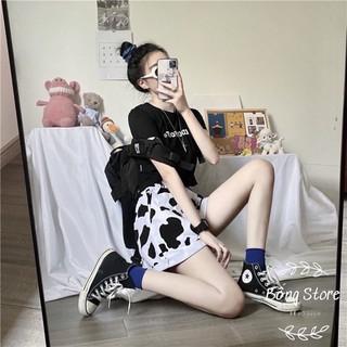 [Rẻ Vô Địch] Quần Đùi Loang Bò Sữa Dáng Rộng --Bống Store thumbnail