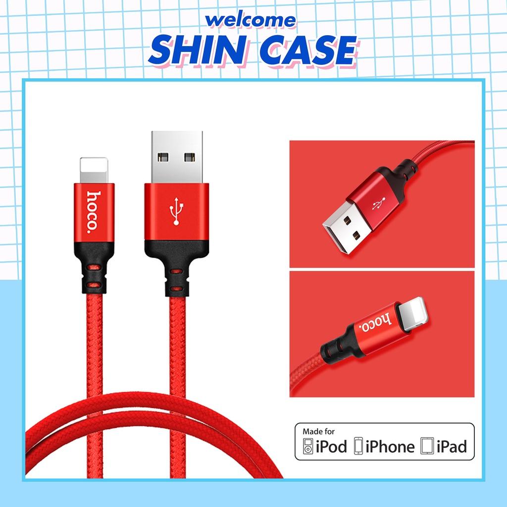 Dây Cáp Sạc  Lightning Hoco X14 Cho Điện Thoại Pin Dự Phòng Tai nghe Bluetooth Case pro i12 2 Vỏ Ốp lưng