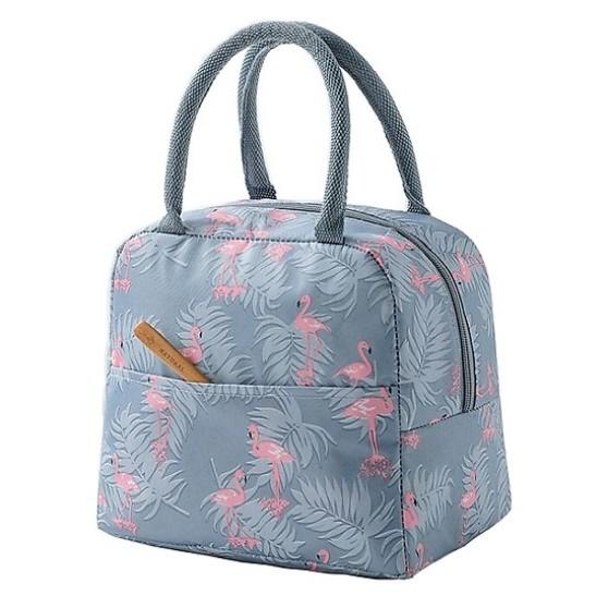 Túi giữ nhiệt hình hạc- Túi đựng hộp cơm nhỏ gọn, xinh xắn
