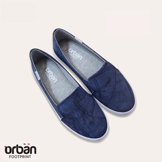 Giày slipon nữ Urban UL1810 xanh chàm