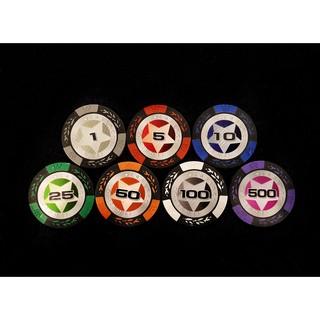 [Rẻ nhất thị trường] Bộ 300 chips Star Poker