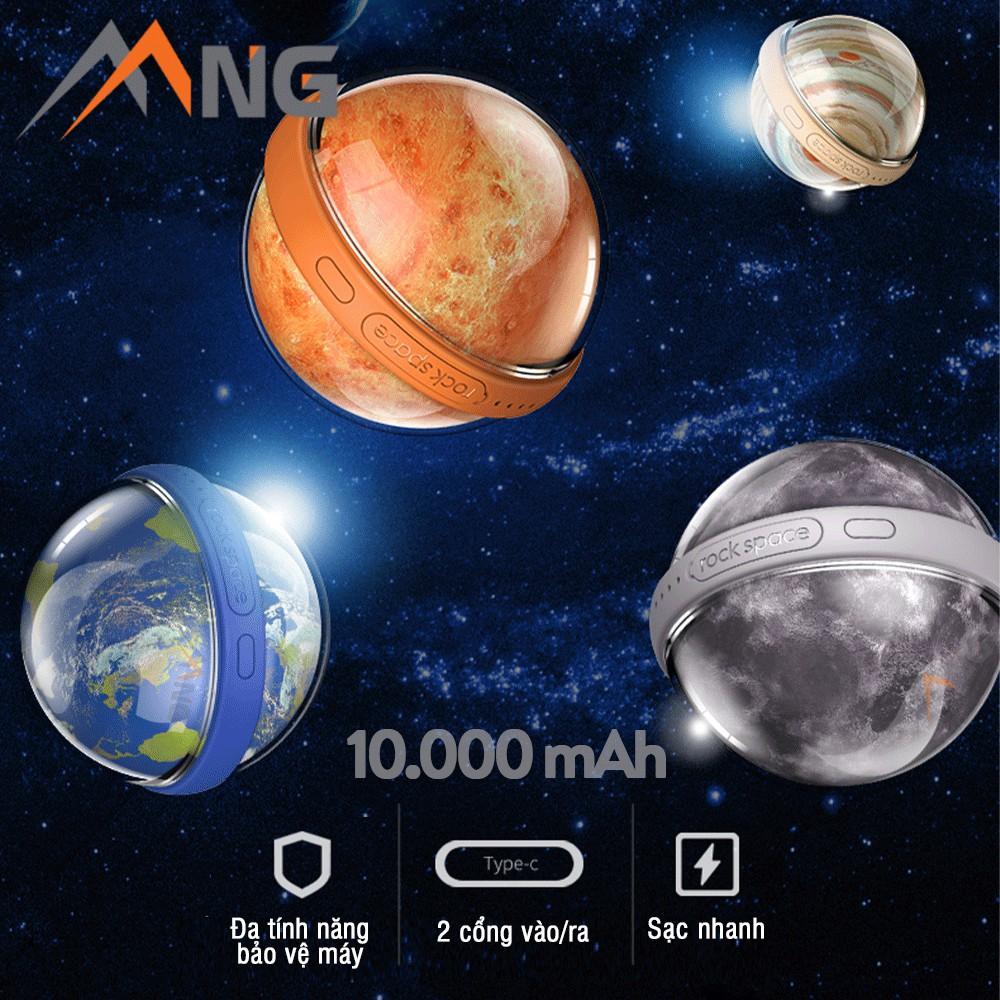Pin sạc dự phòng Phong Thủy Rockspace hệ mặt trời Orb Power Bank 10.000 mAh