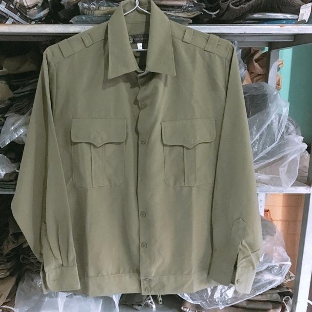 Áo tập quân sự ( vải đẹp loại 1,2)