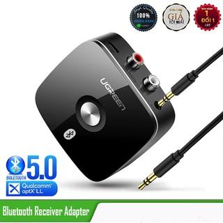 [Mã ELMSBC giảm 8% đơn 300k] Bộ Thu Bluetooth 4.2 cho loa, amly hỗ trợ cổng 3.5mm + RCA Chính Hãng UGREEN 40759