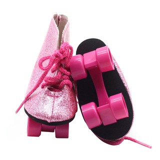 ❀pgs❀Skating Shoes Snow Boots Sport Shoes Baby Doll for 18 inch American Doll❀❀