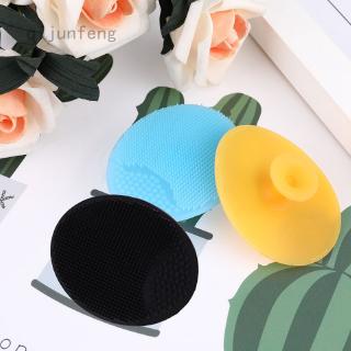Bàn chải rửa mặt bằng silicone mềm giúp làm sạch và loại bỏ mụn đầu đen tẩy tế bào chết hiệu quả thumbnail