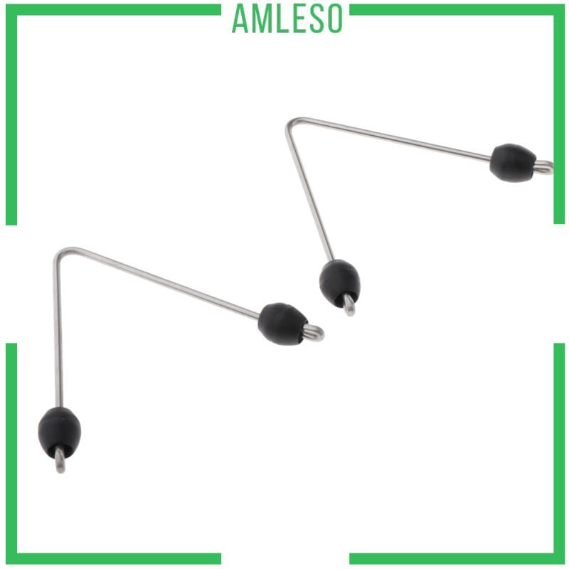 [AMLESO] 2.5mm Rod Wish Bone V Shape Wishbone Spearfishing Hode Adapter 9mm Terminal