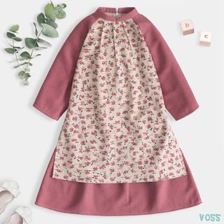 Váy Cổ Tàu Cách Tân Cho Bé Thiết Kế Siêu Xinh Thời Trang Bello Land