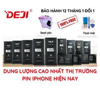 Siêu pin iphone dung lượng cao DEJI full dòng X XR XS XSM | 8 8Plus SE2 | 7 7Plus | 6 6Plus | 6S 6SPlus | 5 5S 5C 5SE