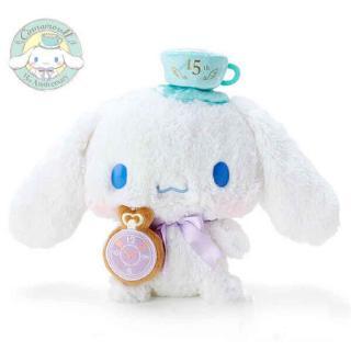 19cm Sanrio Cinnamoroll Limit Cute Dog Plush Toy Soft 15th Anniversary Gift
