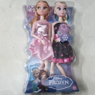 Bộ đôi Elsa & Anna Bộ đồ chơi có khớp tuyệt đẹp