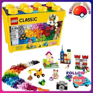 LEGO® CLASSIC Thùng Gạch Lớn Classic Sáng Tạo 10698