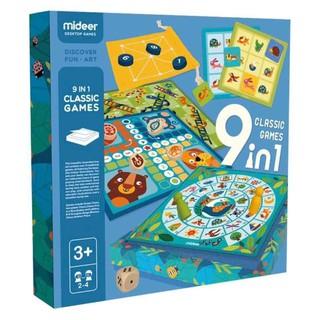 Đồ chơi Mideer – 9in1 Class Games