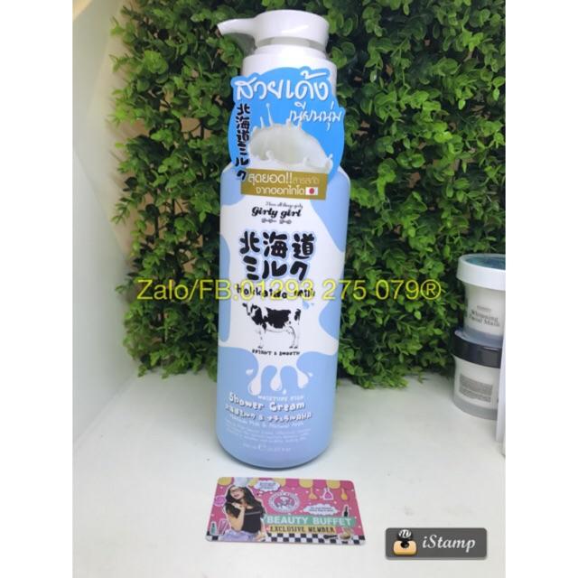 ??Sữa tắm trắng da Hokkaido Milk của Beauty Buffet