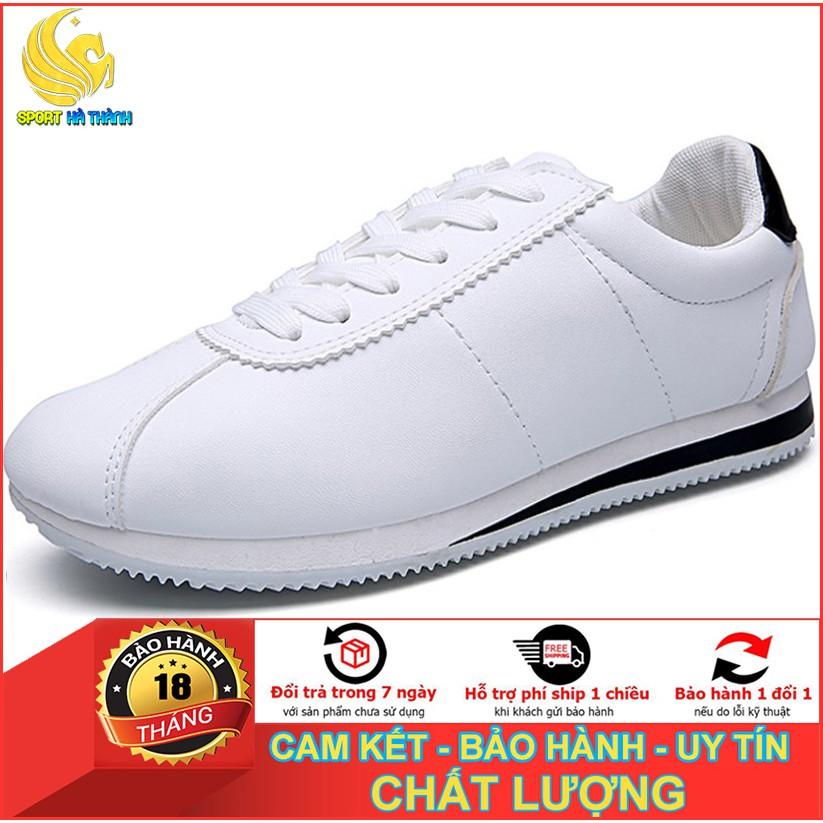 Giày nam trắng thể thao sneaker nam thời trang Sport Hà Thành - SG001 (Màu t