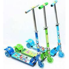Xe Trượt Scooter Cho Bé ( màu xanh )