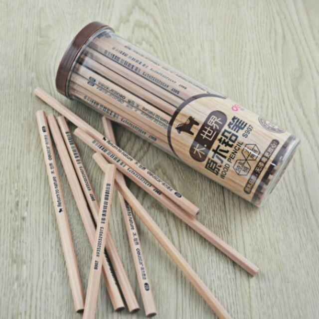 Hộp 50 Bút chì gỗ 2B Deli
