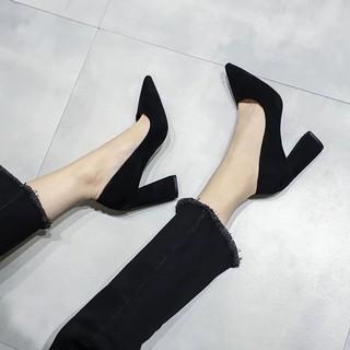 Giày Cao Gót Mũi Nhọn Thời Trang 2021 Quyến Rũ Cho Nữ
