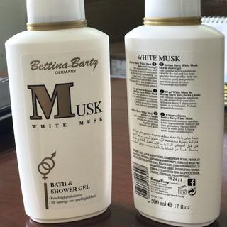 Sữa Tắm trắng Musk Bettina Barty của Đức 500 ml