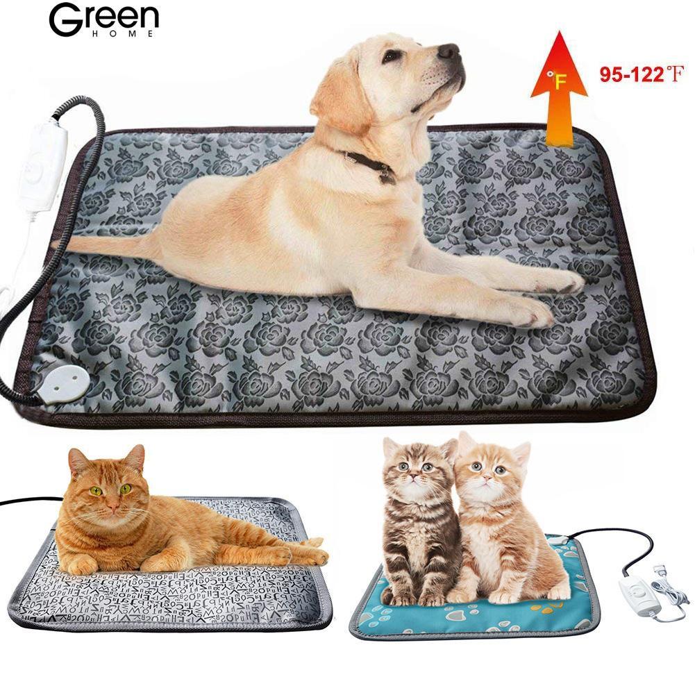 GH🐕 Pet heating pad bite dog cat electric pad waterproof blanket