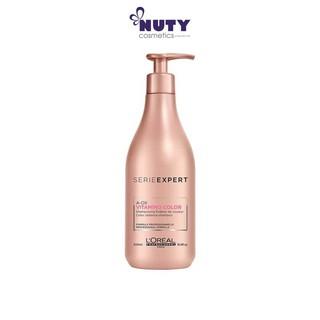 Dầu Gội Chăm Sóc Tóc Nhuộm L oreal Serie Expert A-OX Vitamino Color Radiance Shampoo (500ml)
