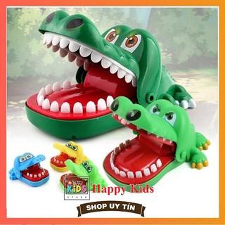 Đồ chơi Khám răng cá sấu 2 hàm hình răng (Loại đặc biệt)